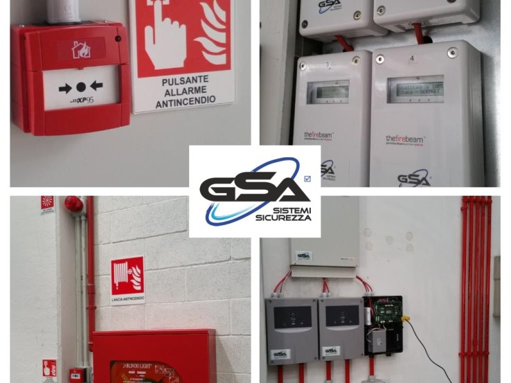 GSA Sistemi _ Rilevazione Incendio
